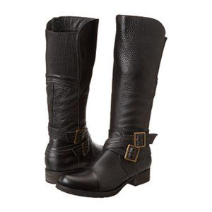 Miz Mooz Womens Shoes Black Boots Riding Kirsten G